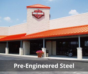 pre-engineered steel